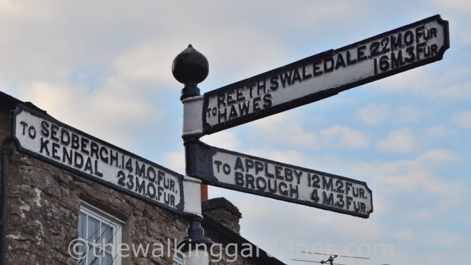 Kirkby Stephen Furlong post