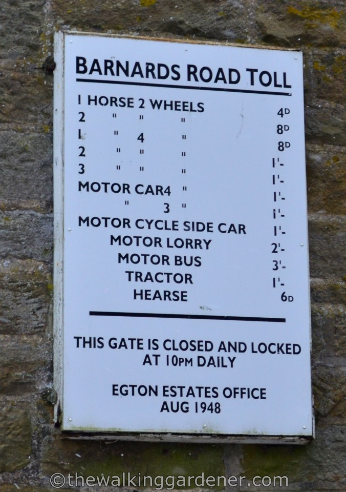 Egton Manor Toll Road