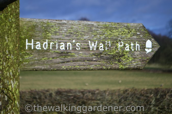 Hadrians Wall Path Sign