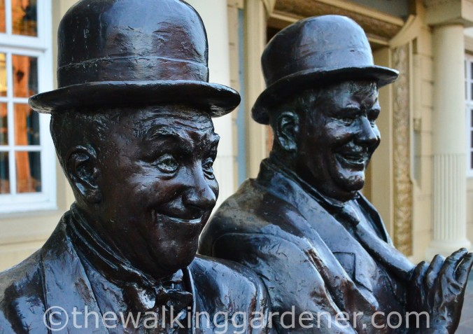 Laurel and Hardy Statue Ulverston