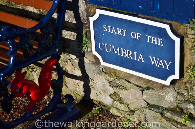 Start of Cumbria Way