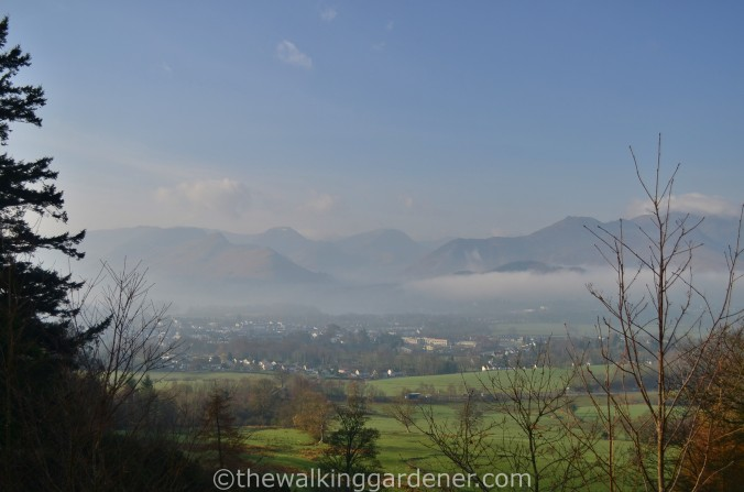 Looking back over Keswick