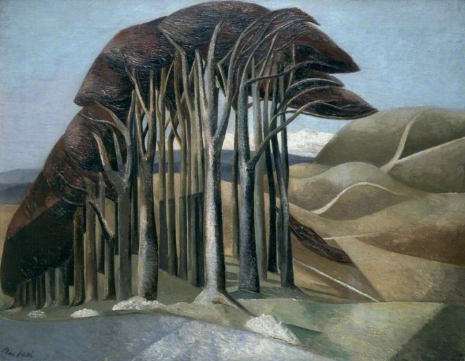 Nash, Paul, 1889-1946; Wood on the Downs